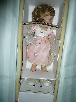 MARIE OSMOND PORCELAIN DOLL SPRING BOUQUET 15 INCHES TALL