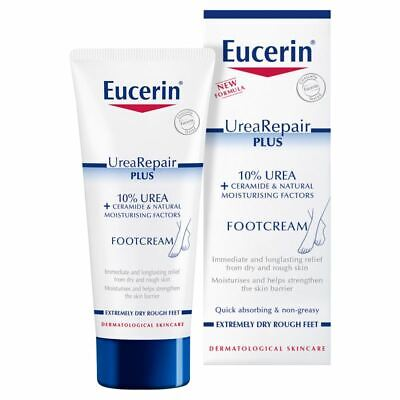 Eucerin with Lactate 100ml Dry Skin Intensive Foot Cream.