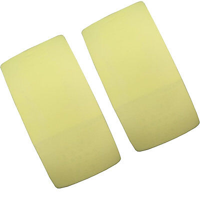 2x Cot 100% Cotton Jersey Fitted Sheet. Size 120cm x 60cm Lemon Yellow New!