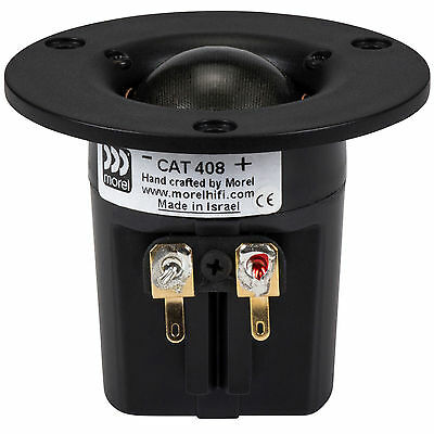"""Morel CAT 408 1-1/8"""" Compact Soft Dome Tweeter"""