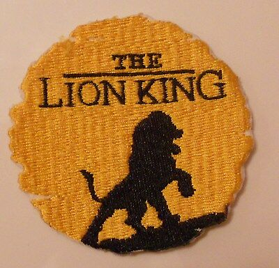 Disney The Lion King Embroidered Iron On Patch