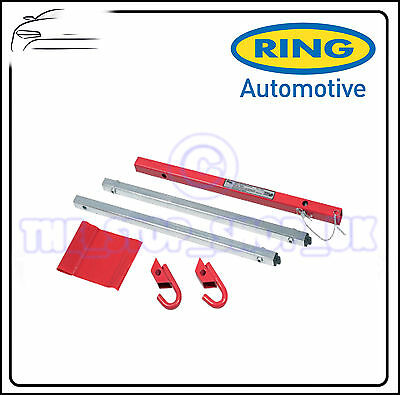 Ring Towing Rigid 1800mm 2 Tone Tow Bar Pole 1.8m Heavy Duty RCT1500