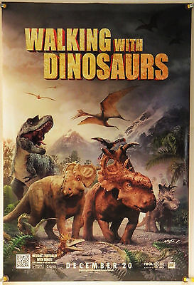 Walking With Dinosaurs Ds Rolled Adv Orig 1Sh Movie Poster Cg Animation (2013)