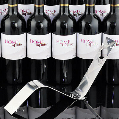 Wine Rack (Wavy) Bottle Holder Bracket BUY 1 GET 1 FREE (#8001x2)