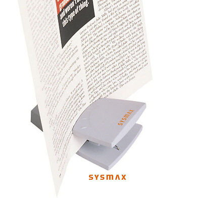 Sysmax Stand Clip,Various Document,Memos,Receipts Holder,Any Documents Upright.