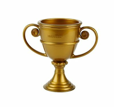 Miniature Trophy Plastic Shot Glass Holds 2 Oz. By Barbuzzo