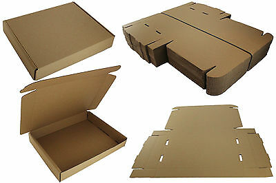 SAMPLE: 1 x SMALL PARCEL SHIPPING MAIL POSTAL STRONG CARDBOARD BOX 42x31x6.5cm