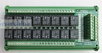 16 channel 24V relay module trigger switch variable PLC power output amplifier