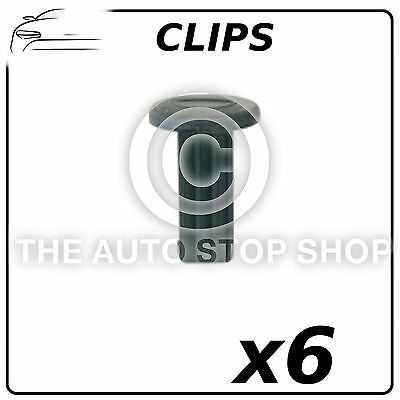 Clips Cowling Engine Cover Renault Laguna III/Vel Satis/Espace IV 11404 6 Pack