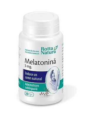 Melatonina Night time sleep aid,rapid and effective absorption, sleep disorder