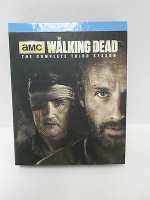 The Walking Dead The Complete Third Season Blu-Ray 5-Disc Set - BRAND NEW