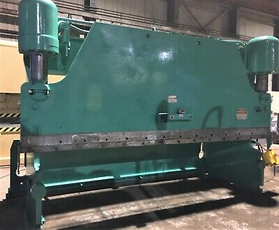 225 Ton x 14' Pacific J225 Hydraulic Press Break Metal Bender Sheet Plate Bender