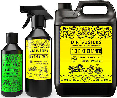 Bike cleaning kit Cleaner Cycle Motorcycle motorbike 5L+1L & chain cleaner