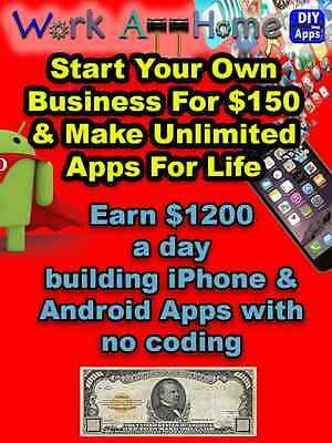 Build Apps with no coding, App Maker, Make $$$ building Apps
