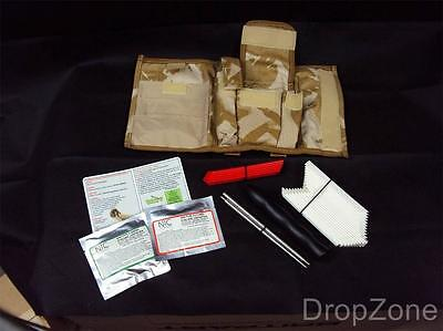 British Military Personal Mines Extraction Kit IED, Desert DPM Molle