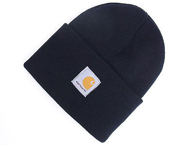 Navy Acrylic Watch Cap One Size Fits All Carhartt A18 New