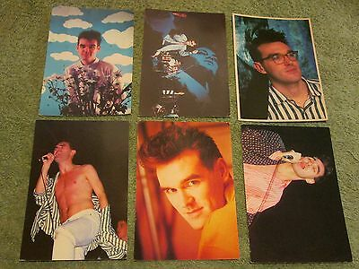 THE SMITHS/MORRISSEY ~ 6 retro/Vintage 1980s/1990s POSTCARD Collection!