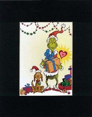 GRINCH & MAX~Mat Print~WHOVILLE GIFTS~BIG HEART