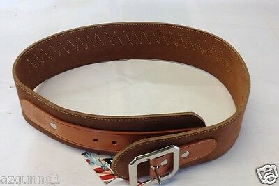Galco 1880 Western Cartridge Belt 38/357,  Size 36 Tan, Part #W-DR357-36