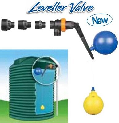 Hansen Water Tank Reservoir Float Valve & Level Valve up to 1275 liters/min