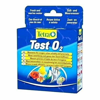 Tetra Oxygen Test Kit 02 / O2 for Freshwater/Marine/Aquarium , 1st class postage