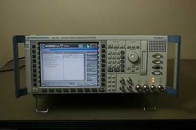 Rohde Schwarz CMU200 with GSM, C2K, WCDMA, Audio, LOADED!!!, Calibrated Warranty