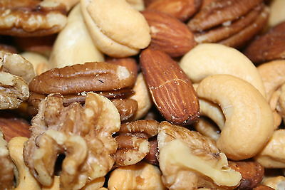 Mixed Nuts Deluxe Roasted Unsalted, 5Lbs