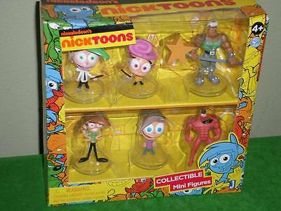 Fairly Odd Parents Collectible Figures Nickelodeon