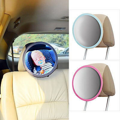 In-Sight Auto Mirror See-My-Baby Rear Facing Car Seat Safety Mirror by TFY