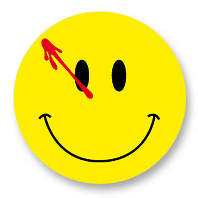 "Pin Button Badge Ø25mm 1"" The Watchmen Bloody Smile Smiley DC Comics"