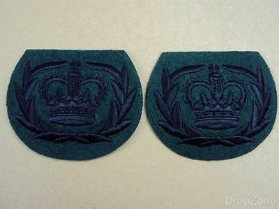 Pair of British Military Warrant Officer's 2nd Class  Badge / Patches