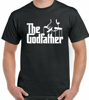 The Godfather T-Shirt Movie Christening God Father Mens Funny Gift Present Baby