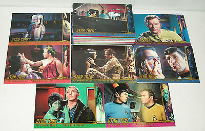 "Star Trek TOS The Original Series Season 3 48 Card /""Character Log/"" Set C111-158"