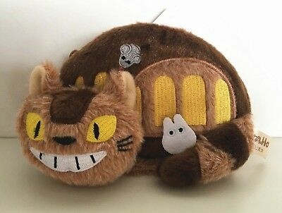 Studio Ghibli My Neighbour Totoro Cat Bus Plush Cosmetic Pencil Case Bag Pouch