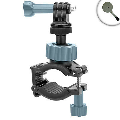 Adjustable Action Stabilizing Handlebar Mount with Action and Tripod Screw Mount