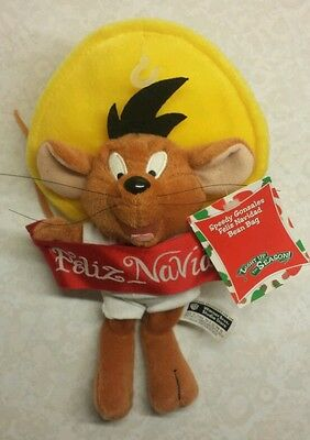 Warner Brothers Store Christmas Speedy Gonzales Plush