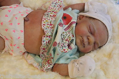 Baby Vampire*Sold out limited Edition Knox Eagles*3D hair*Belly plate*Realism