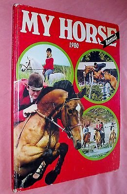 My Horse Annual 1980 Hardcover Childrens Book