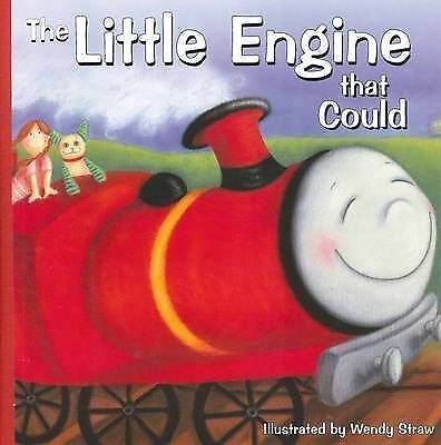THE LITTLE ENGINE THAT COULD * NEW LARGE LAMINATED BOOK BY WENDY STRAW
