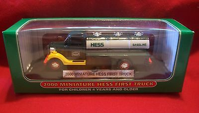 2000 Hess Mini Truck Fresh From Case