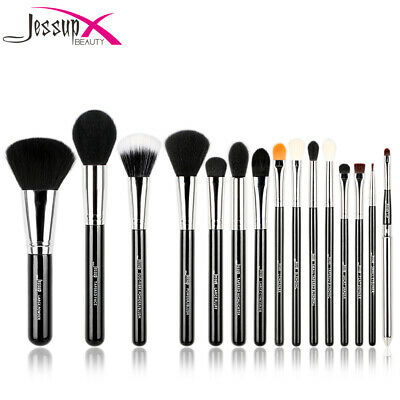 Jessup 12/15Pcs Makeup Brushes Pro Cosmetic Make Up Brush Set Superior Soft