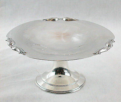 """A STERLING SILVER 7"""" COMPORT by CARL POUL PETERSEN, c.1944-76"""