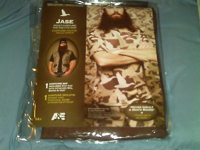 Duck Dynasty- Jase Adult Costume, One Size Fits Most