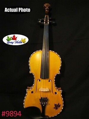 SONG Profession CONCERT violin 4/4,copy Norwegian fiddle,perfect sound #9894
