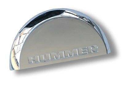 HUMMER H2 LICENSE PLATE DOME LIGHT COVER CHROME FINISHED ABS PLASTIC