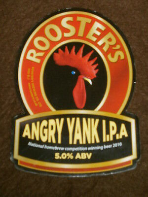Beer Pump Clip - Roosters Angry Yank Ipa