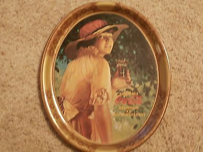 Vintage Canadian French Coca Cola Serving Tray