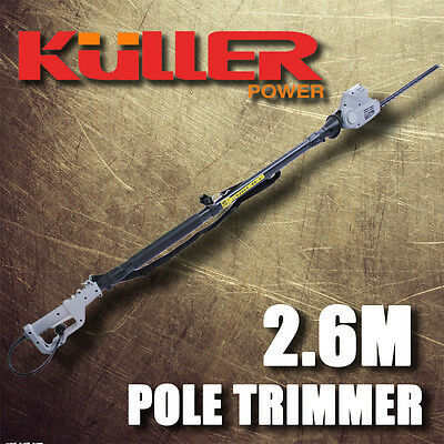 New KULLER Electric 450W Pole Hedge Trimmer Hedger Garden Tools Power