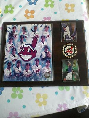 "Cleveland Indians 2001 Wooden Wall Photo Plaque 15"" x 12"""