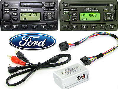 Ford Mondeo 1996-2003 AUX adapter lead 3.5mm jack in car iPod MP3 HTC CTVFOX001